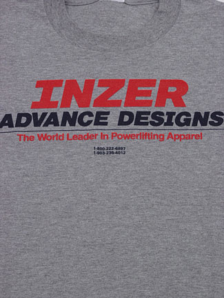 Inzer long sleeve T-shirt, from Inzer The World Leader In Powerlifting Gear and Powerlifting Belts