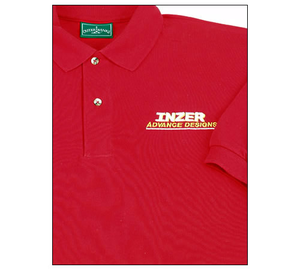 Combed Cotton Polo shirt - Inzer Advance Designs, The World Leader In Powerlifting Belts and Apparel