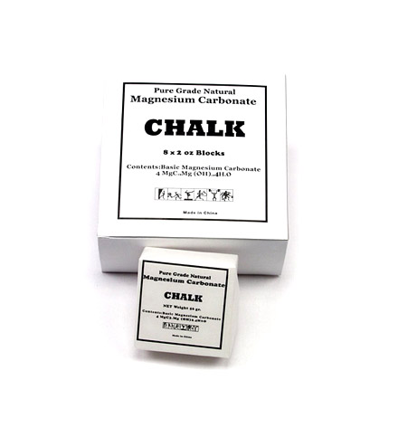 Gym Chalk-Inzer Advance Designs, powerlifting chalk and weightlifting chalk, for hand grip during workouts, strongman and powerlifting competitions