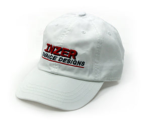 White Logo Cap - Inzer Advance Designs. The World Leader In Powerlifting Apparel And Powerlifting Belts
