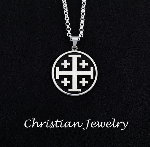 christian jewelry - custom religious jewelry - personalized christian necklace cross jewelry