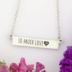Custom love jewelry design your own necklace anniversary necklace