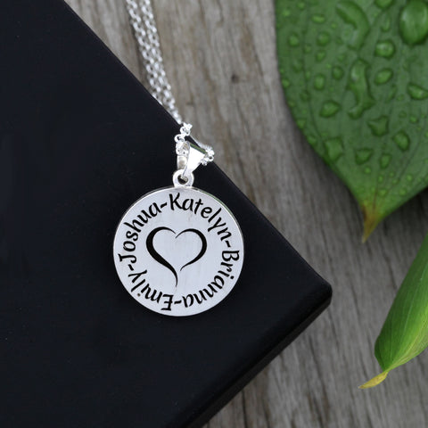 necklace for mom - jewelry for mommy - personalized necklaces for mom - childrens names necklaces - necklace with kids names - meaningful mom gifts - necklace for mothers