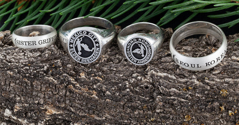 customize a ring - customisable rings - customizable rings - men's rings custom - engraved ring - name ring - lds mission jewelry - lds mission gifts - missionary gift ideas - lds missionaries - called to serve - small business support - design your own jewelry - custom ring design
