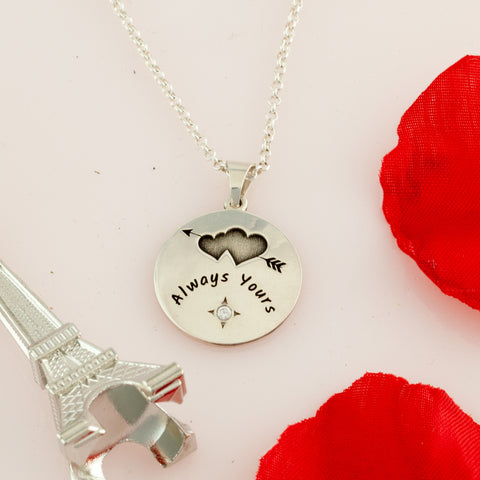 anniversary gifts traditional and modern - anniversary gifts traditional by year - personalized jewelry for couples - anniversary gifts traditional - love jewelry - jewelry engraved near me