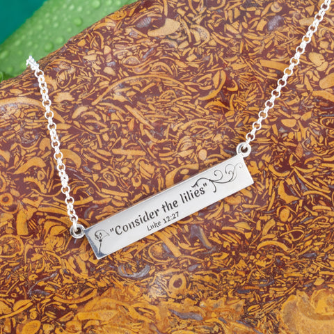 bar necklace - bar necklace engraved - bar necklace personalized - personalized bar necklace - engraving necklaces - engraving necklaces - customized jewelry near me