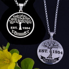 family tree jewelry mother's necklace mom gifts