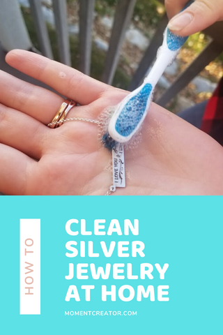 how to clean sterling silver necklace - how to clean silver jewelry - how to clean sterling silver jewelry - sterling jewelry - how to clean jewelry - diy jewelry cleaning