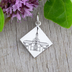 Custom LDS Temple Wedding Charm Design your own temple charm