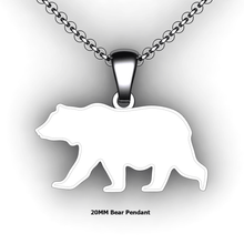 Load image into Gallery viewer, custom bear necklace you design personalized bear necklace customized jewelry