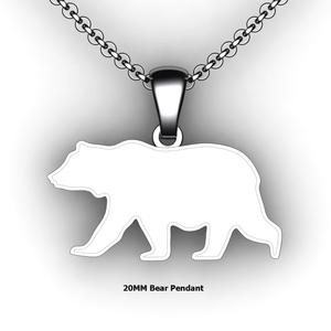 custom bear necklace you design personalized bear necklace customized jewelry