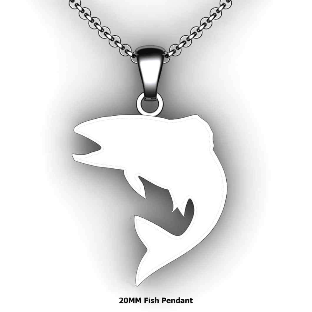 custom fish necklace you design personalized fish necklace customized jewelry