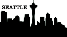 Load image into Gallery viewer, personalize jewelry with seattle city outline city scape seattle city skyline