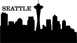 personalize jewelry with seattle city outline city scape seattle city skyline