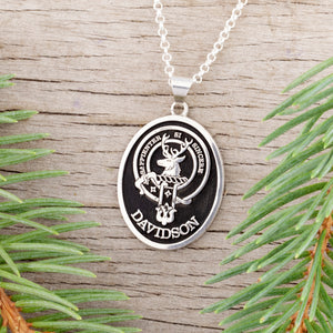 Personalized family crest necklace - family crest template