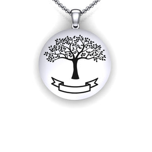family tree necklace personalized - family tree necklace silver - create a family tree gift - how to create family tree - family tree template