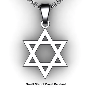custom star of david necklace you design personalized  Star of David necklace customized jewelry