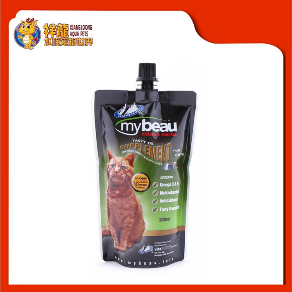 MY BEAU TASTY OIL SUPPLEMENT FOR CAT 300ML