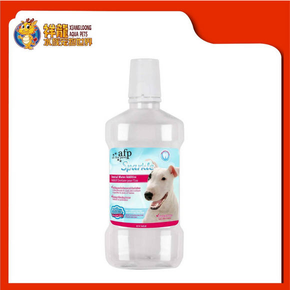 AFP#3362 SPARKLE DENTAL WATER ADDITIVE 16OZ