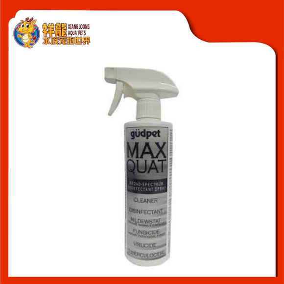 GUDPET MAX QUAT BROAD-SPECTRUM DISINFECTANT