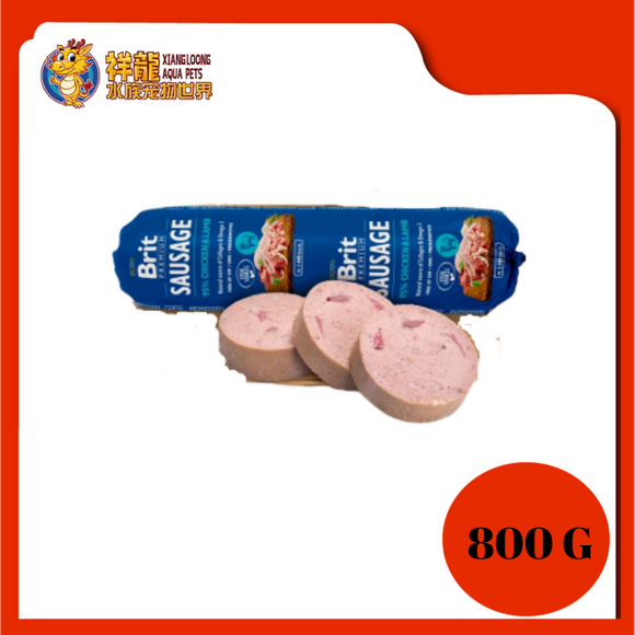 BRIT SAUSAGE 800G - CHICKEN / LAMB