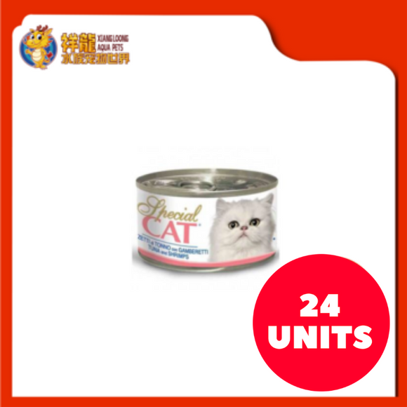 SPECIAL CAT TUNA & SHRIMP 95G (24XRM1.80)