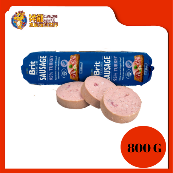 BRIT SAUSAGE 800G - TURKEY