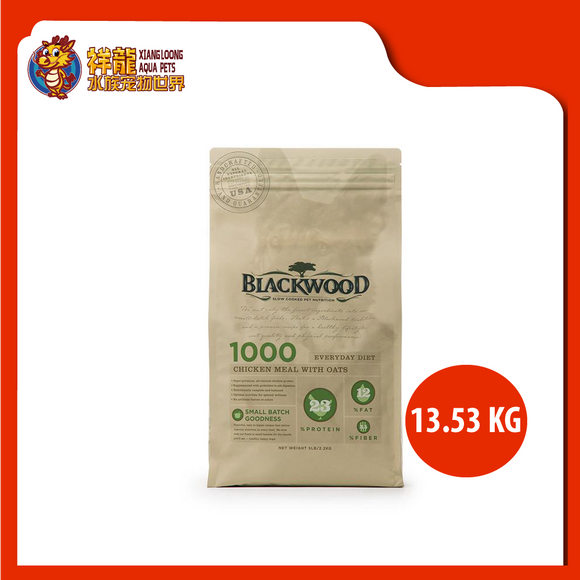 BLACKWOOD 1000 CHICKEN & OAT 13.53KG