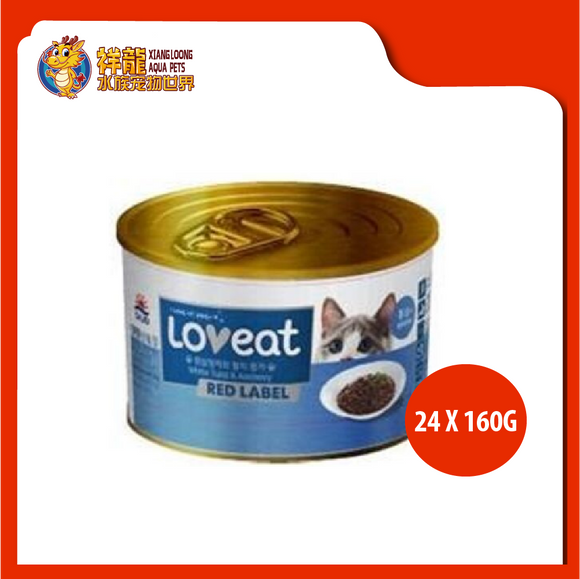 LOVEAT WHITE TUNA/ANCHOVY 160G (24XRM5.61)