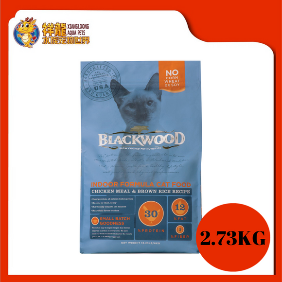 BLACKWOOD INDOOR CHICKEN & RICE 2.73KG