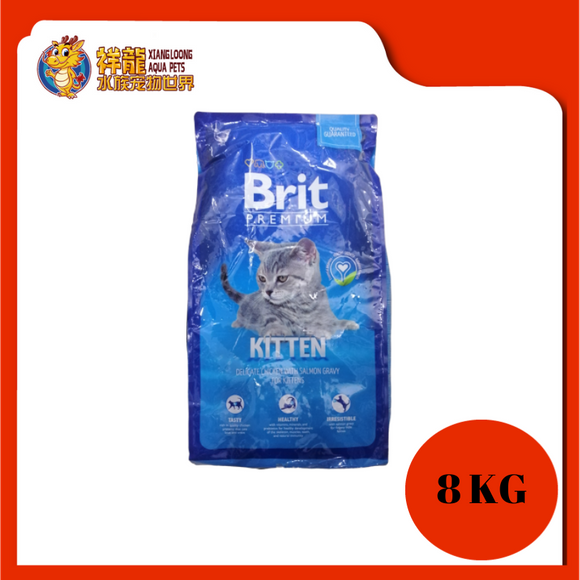 BRIT PREMIUM WELLNESS KITTEN 8KG