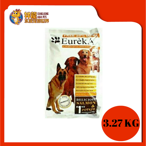 EUREKA HOLISTIC SALMON DOG FOOD 3.27KG