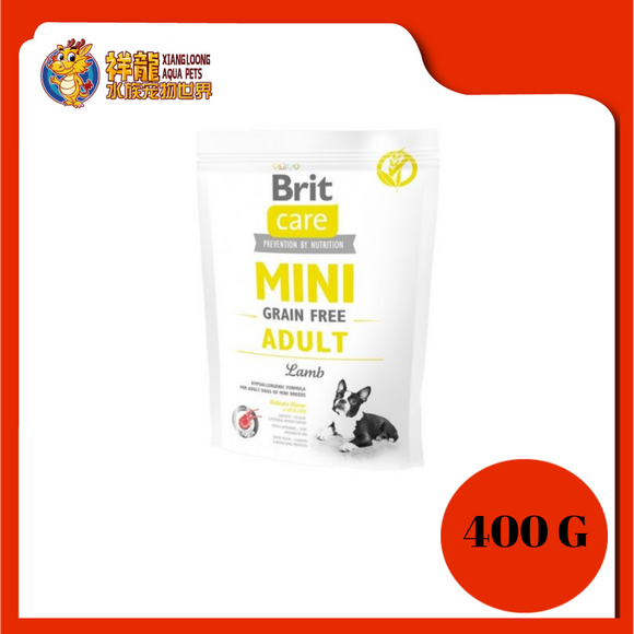BRIT CARE GF MINI ADULT LAMB 400G