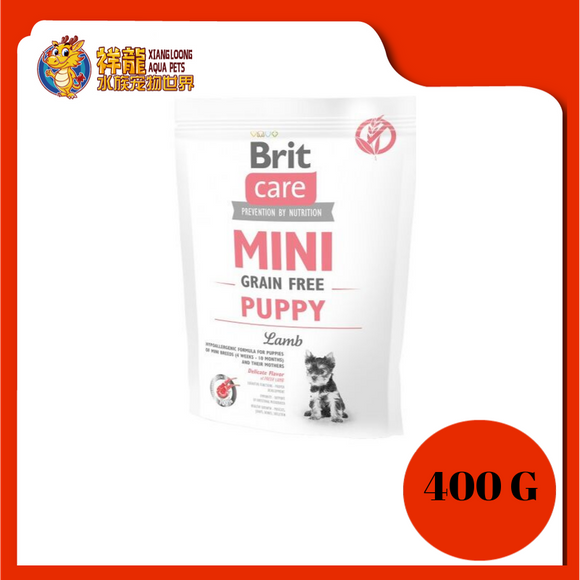 BRIT CARE GF MINI PUPPY LAMB 400G