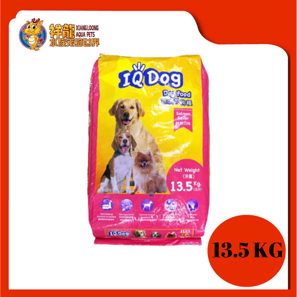 IQ DOG FOOD-SALMON 13.5KG