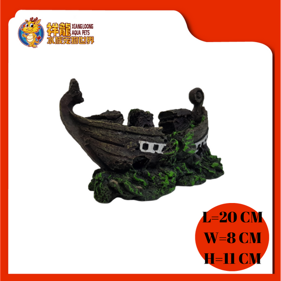 ORNAMENT SDT-2001-6(SD-2311)SHIPWRECK
