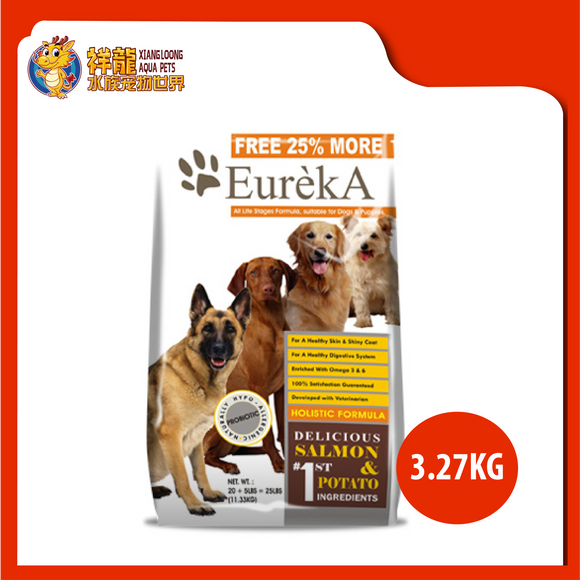 EUREKA LAMB & RICE DOG FOOD 3.27KG