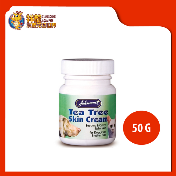 JONHSON TEA TREE SKIN CREAM 50G