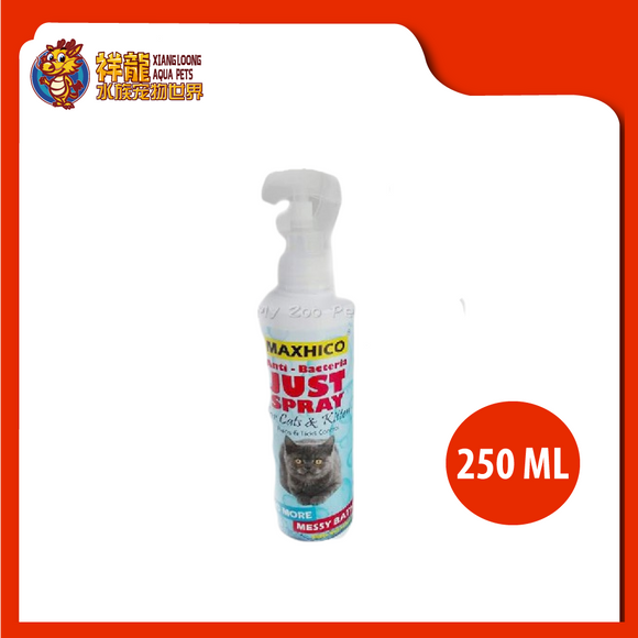 MAXHICO ANTI-BACTERIA JUST SPRAY FOR CATS & KITTEN 250ML