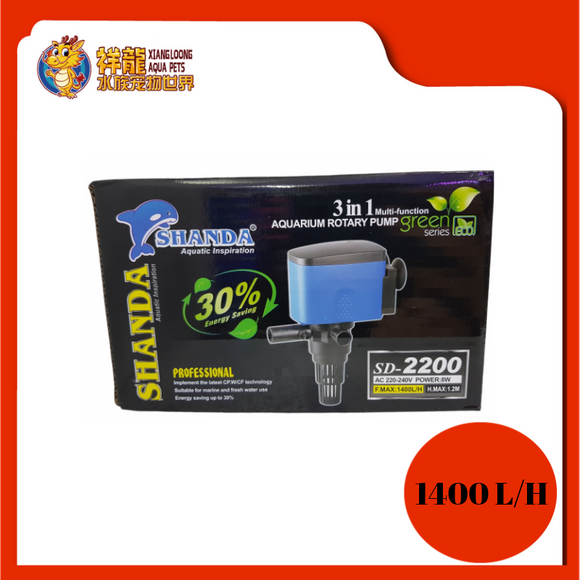 POWER HEAD 3 IN 1 SD-2200 SHANDA