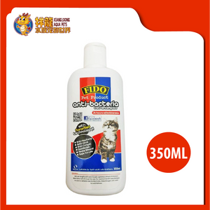 FIDO NANO ANTIBACTERIA CAT SHAMPOO 350ML