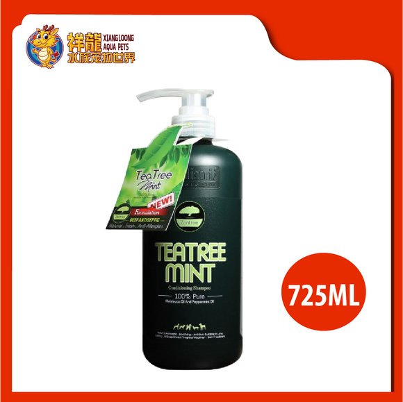 PET ZANTREE TEA TREE MINT SHAMPOO 725ML