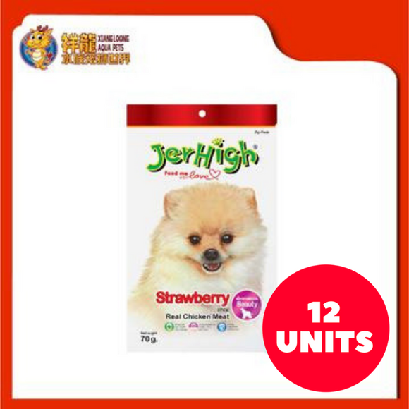 JERHIGH STRAWBERRY 70G (12XRM5.94)