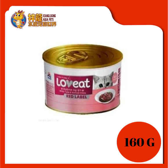 LOVEAT WHITE TUNA & SEAFOOD STICK 160G
