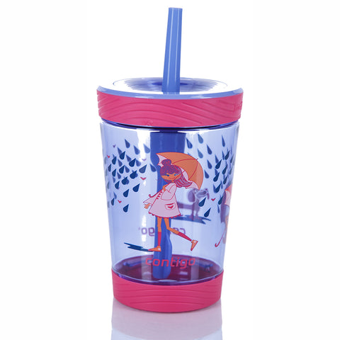 Flašica za decu Spill proof tumbler 14 Wink w/raining cats & dogs 420 ml