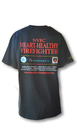 Heart Healthy Firefighter T-Shirt