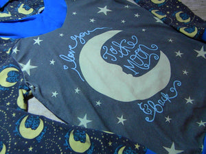 I Love You to the Moon & Back Hoodie Size 10