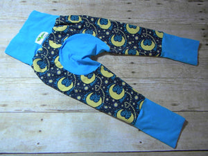 To The Moon Monster Bunz Grow with me Pants Luxe Large {1-4 years}