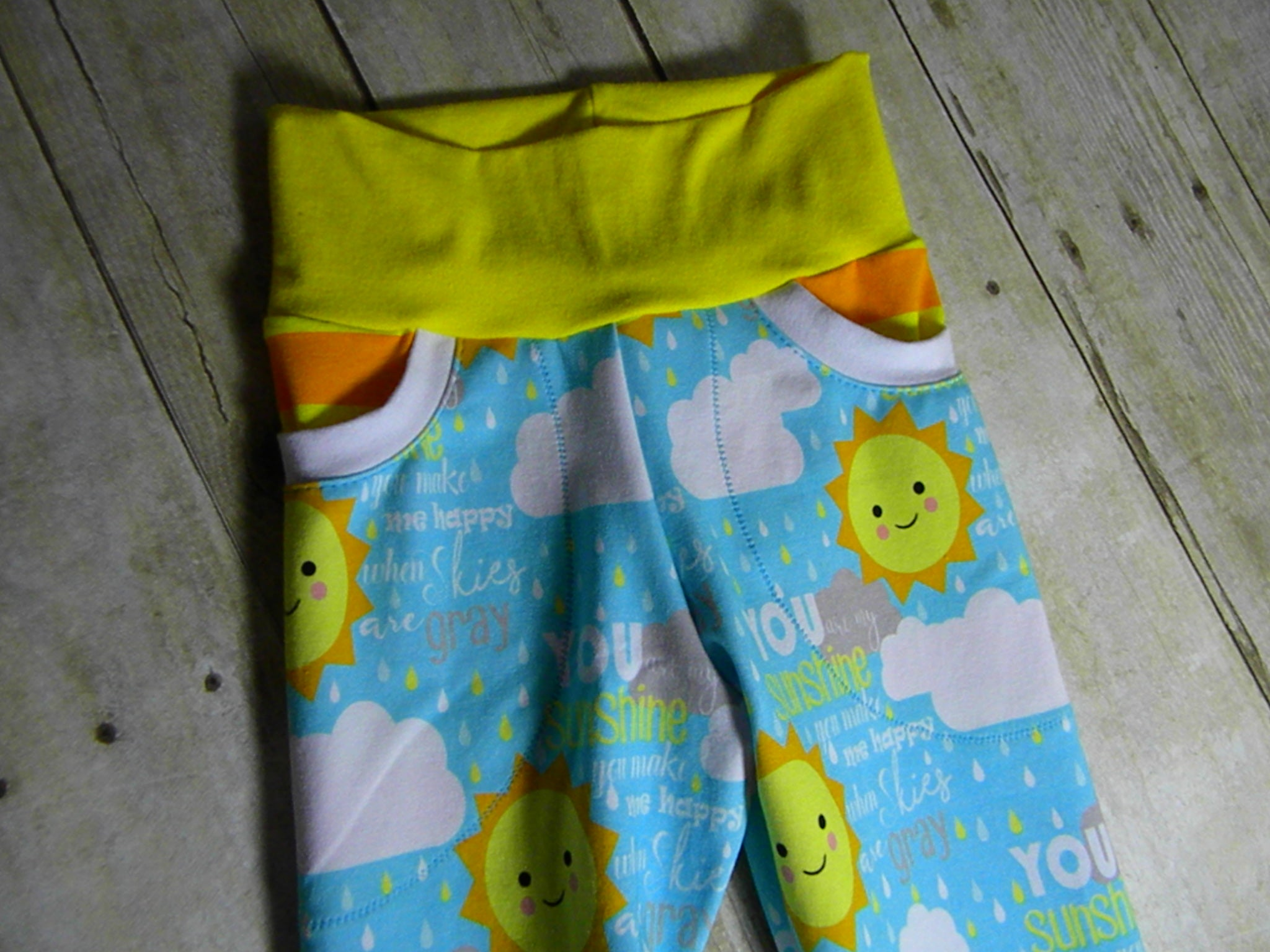 You Are My Sunshine Forever Fit Joggers Size Small {6/9 months to 3/4 years}