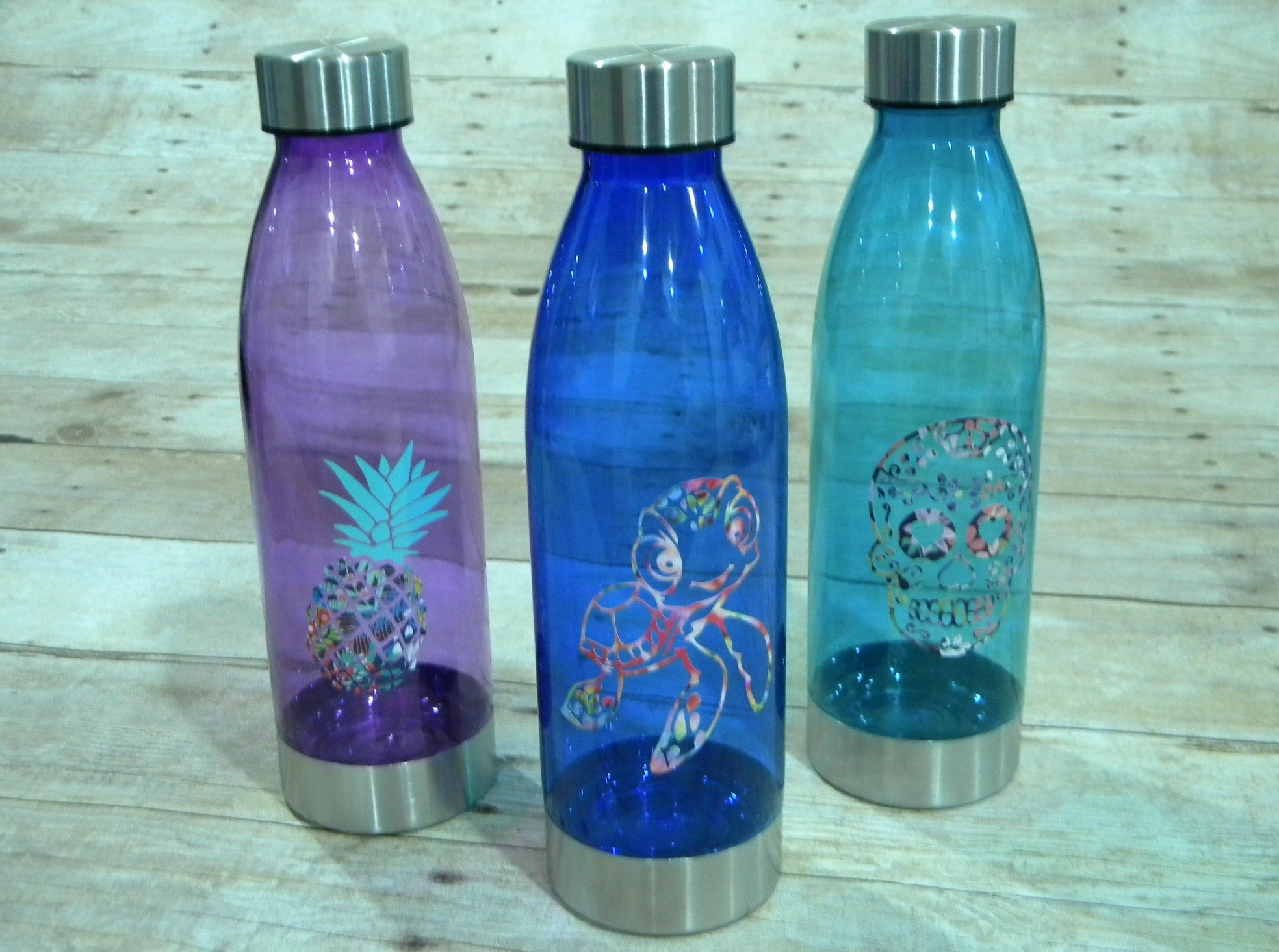 Fun Design Water Bottles